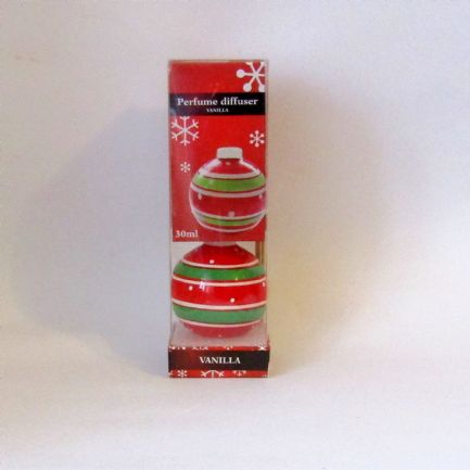Christmas Reed Diffuser, Christmas Bauble